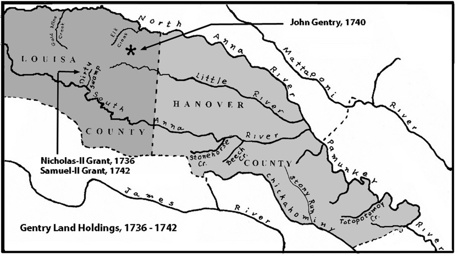 Louisa Co. 1740-1745